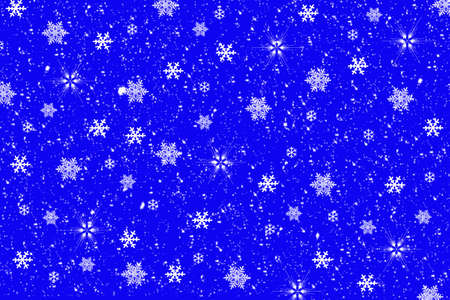 flamed: Snowflakes background ,illustration Stock Photo