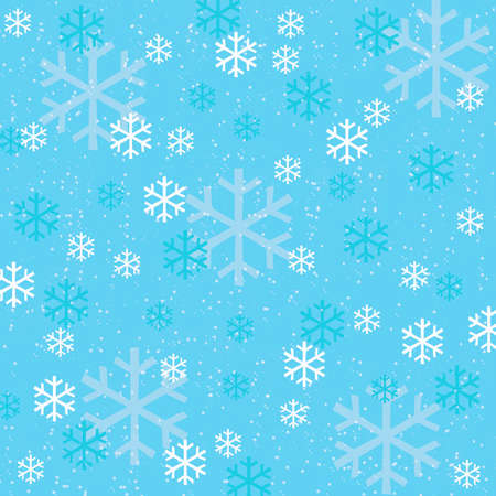 flamed: Snowflake background-illustration Stock Photo