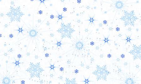 Snowflake background-illustration Stock Photo