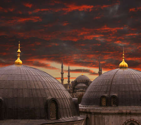 mehmed: The Blue Mosque in Istanbul,Turkey