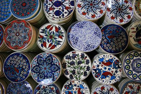 ceramica: Cerámica colorido de Estambul, Turquía