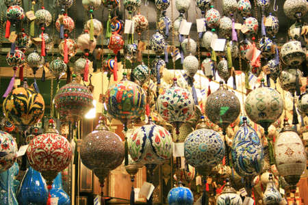 Oriental Souvenirs in Grand Bazaar,Istanbul
