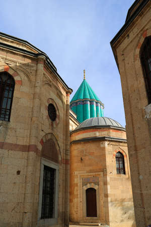Rumi aka Mevlana Tomb and Museum, Konya, Turkey