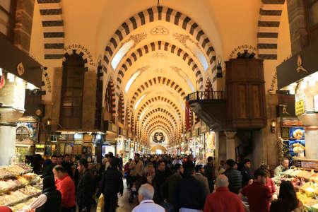 Gewürzbasar nach der Restaurierung in Istanbul, Türkei