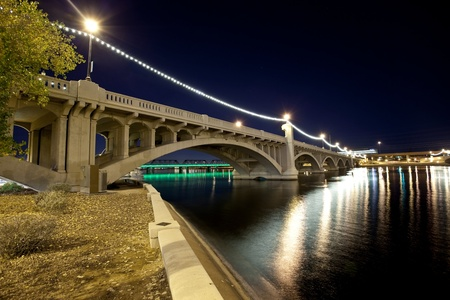 Tempe Arizona Bridge photo