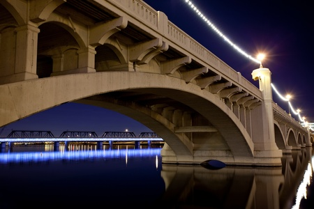 Tempe Arizona Bridge Stock Photo - 11701170