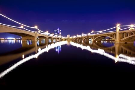Tempe アリゾナ州橋 写真素材