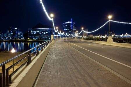 Bridge to Downtown Tempe Arizona