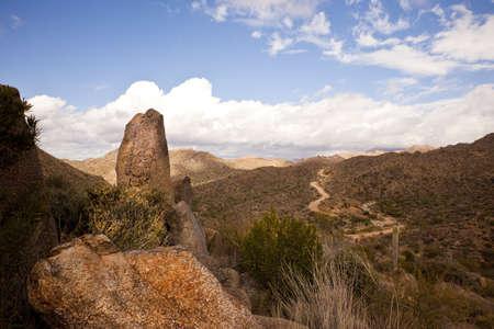 four peaks wilderness: Road to Arizona Four Peaks
