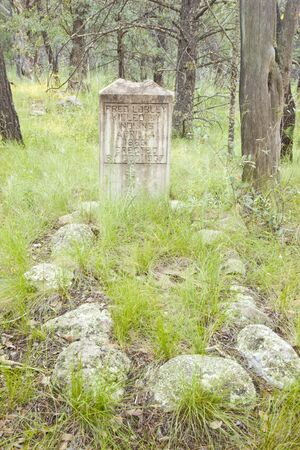 grave site: Historic Old West Grave Site