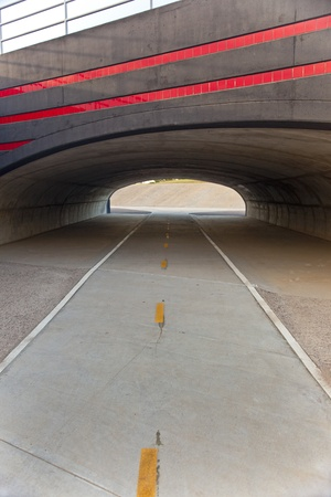 Pedestrian and Bicycle Underpass in Scottsdale Arizona