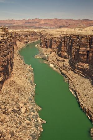 Colorado River at Marble Canyon in Arizona