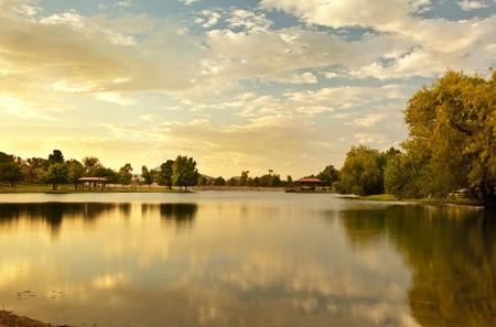 Scottsdale Arizona Vista Del Camino Park 写真素材