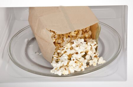 forno a microonde: Microwave Popcorn