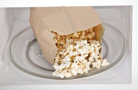 microwave oven: Palomitas de ma�z de microondas