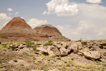 TePee Hills in Petrified Forest National Park