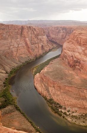 Horseshoe Bend on the Colorado River photo