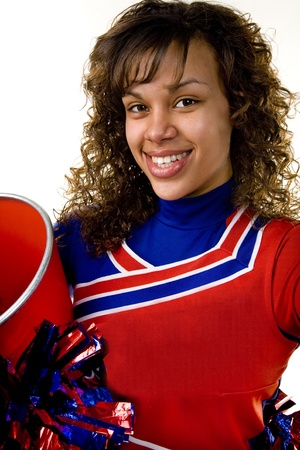 Cheerleader 写真素材