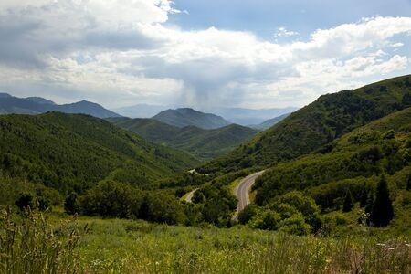Emigration Canyon Near Salt Lake City Utah