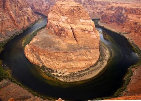 Horseshoe Bend on the Colorado River photo