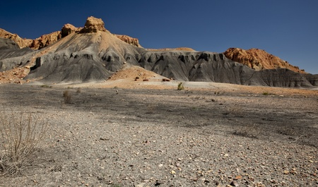 Utah Desert Badlands Stock Photo
