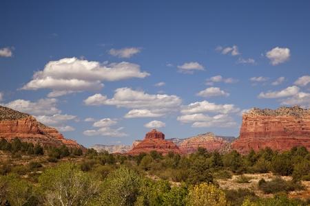 sedona: Sedona Valley in Arizona