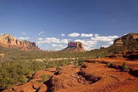 アリゾナ州セドナの谷
