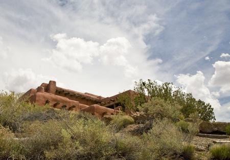 Pueblo Style Building photo