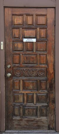 Private Residence Entry Door