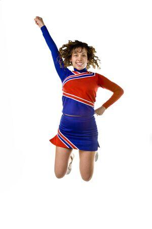 Cheerleader Jumping photo