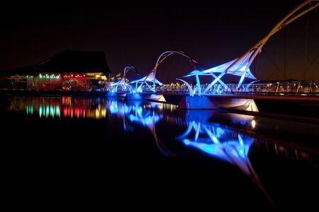 Tempe Arizona Rio Salado Pedestrian Bridge