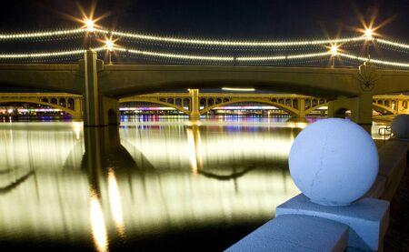 Tempe Arizona Mill Avenue bridges Stock Photo - 13261246