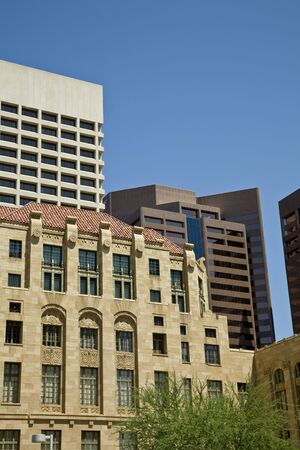 Downtown Phoenix Arizona Stock Photo