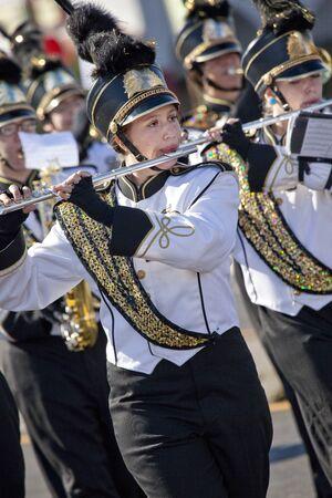 Marching Band Member in Arizona Parade