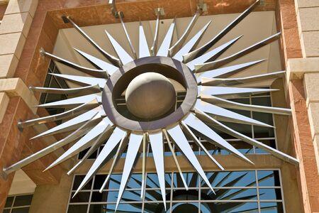 フェニックス市庁舎サンバースト 写真素材