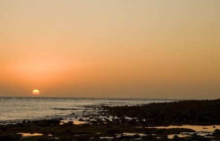 Sunset at Puerto Penasco, Mexico Stock Photo - 16646284