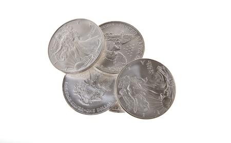 Silver Liberty Coins Stock Photo - 16646254