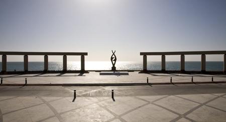 rocky point: piazza pubblica sul mare a Puerto Penasco (Rocky Point) Messico.