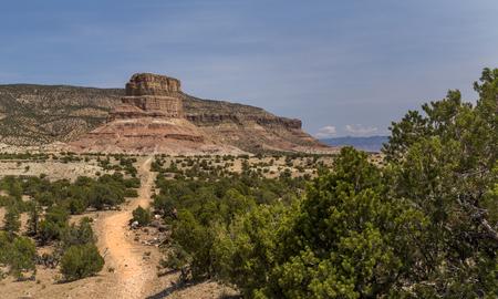 san rafael: Chimney Rock at the San Rafael Swell in Utah