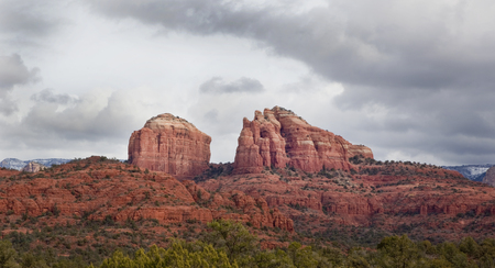 coconino national forest: Cathedral Rock in Coconino National Forest at Sedona Arizona