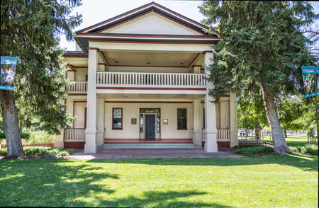 archive site: Historic Isaac Chase Home in Salt Lake City Utah Editorial