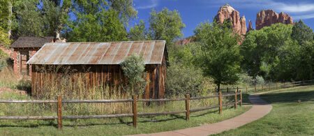 Historic Crescent Moon Ranch State Park in Sedona Arizona