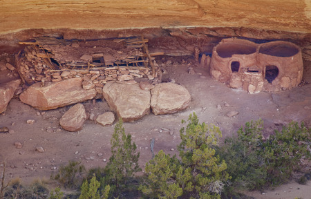 Horsecollar Ruin is an Ancestral Puebloan ruin in Natural Bridges National  Monument in the four corners region of South East Utah. Stock Photo