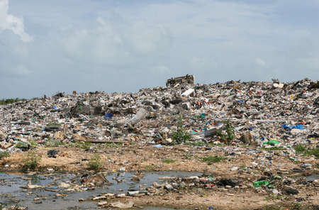 A disgusting dump site in Central America photo