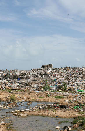 Illegal dumping grounds outside Belize City Stock Photo - 1829881