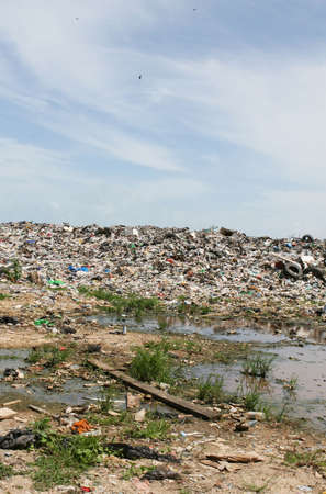 Illegal dumping grounds in Central America Stock Photo - 1829915