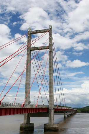 The friendship bridge - one of the longest bridges in Costa Rica photo