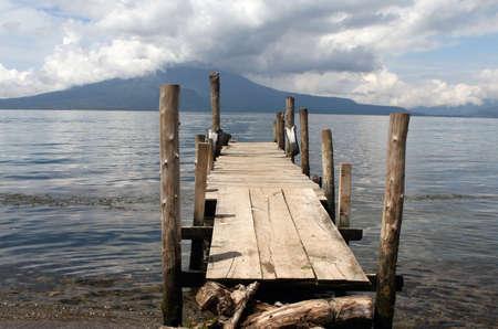 Lago Atitlan in Guatamala, Central America Stockfoto