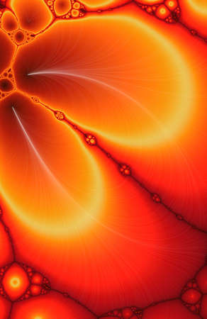 Digital Cell Theory Fractal Background Stock Photo - 2461592