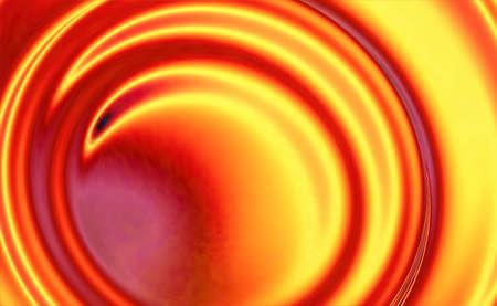 Fire Whirlpool Digitally Generated Fractal Background 版權商用圖片